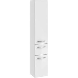Pelipal Hochschrank 30 cm Quantum 1 Weiß Hochglanz