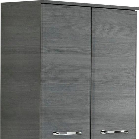 PELIPAL Midischrank Alika 60 x 141 33 (B H T) cm, 4-türig grau Bad-Midischränke Badmöbel Schränke