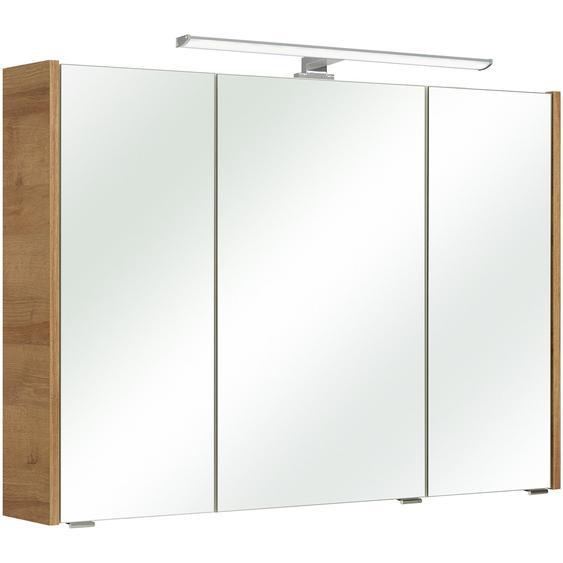 Pelipal Spiegelschrank 100 cm Rovato Riviera Eiche EEK: A- A++