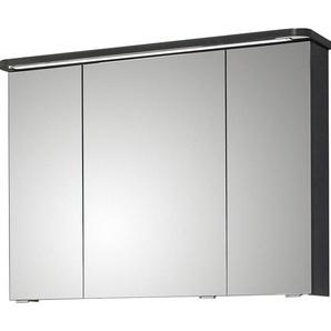 Pelipal Spiegelschrank 90 cm Fokus 4005 Steingrau Hochglanz
