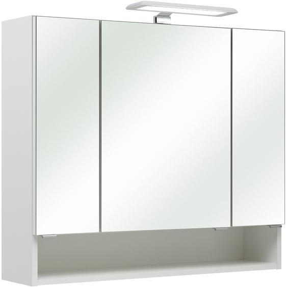 Pelipal Spiegelschrank Sarah II 80 cm x 70 cm x 20 cm Weiß EEK: A++