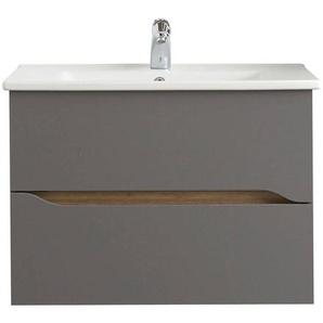 Pelipal Waschtischunterschrank, Quarzgrau