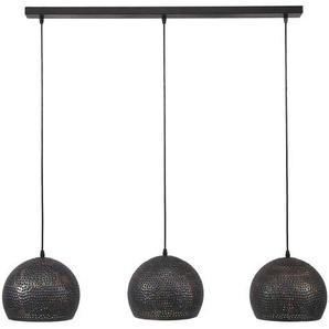 Pendelleuchte, Alu, Eisen, Stahl & Metall
