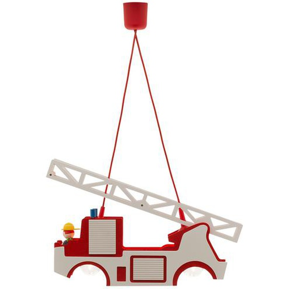 Pendelleuchte Feuerwehr Holz ¦ mehrfarbig