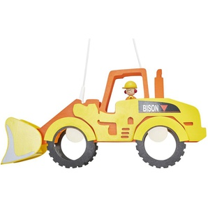 Pendelleuchte Radlader - gelb - 25 cm - 30 cm | Möbel Kraft