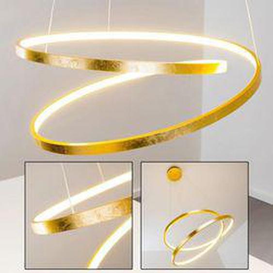 Pendelleuchte Stalon LED Gold, 1-flammig - Design - Innenbereich - versandfertig innerhalb von 2-4 Werktagen