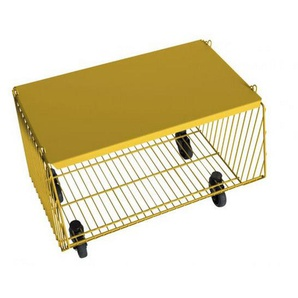 Pension für Produkte - Living Basket Wohnkorb - 1er - zinkgelb