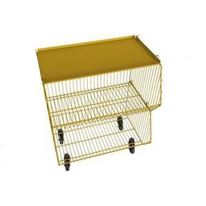 Pension für Produkte - Living Basket Wohnkorb - 2er - zinkgelb