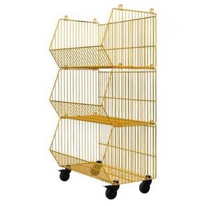 Pension für Produkte - Living Basket Wohnkorb - 3er - zinkgelb