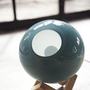 PER/USE - MCE Lamp S - eiche natur, Glas grün