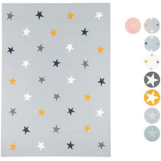 Pergamon Kinder und Jugend Teppich Trendline Sterne
