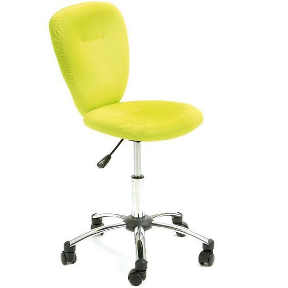 Pezzi / Drehstuhl Bürostuhl Kinderstuhl Bezug Mesh Apfelgrün Chrom,