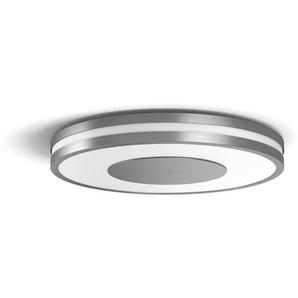 Philips: LED-Deckenleuchte, Alu, B/H/T 34,8 5,1 34,8