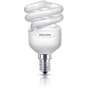 Philips Energiesparlampe Tornado tageslichtweiß E14 12 W