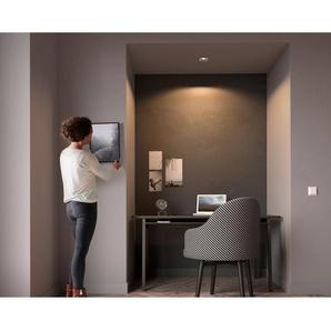 Philips Hue LED-Einbauspot Milliskin inkl. Dimmschalter rechteckig Weiß EEK: A