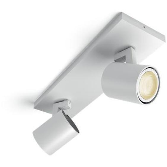 Philips Hue LED Spot Runner 2-flammig 5309231P7, 500 lm, Weiß, inkl. Dimmschalter
