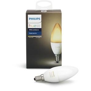 Philips Hue LED White Amb. Erweiterung, E14, 1x6W, Bridge erforderlich