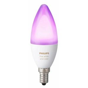 Philips Hue LED-Lichtsystem, E14, 1 Stück, Neutralweiß, Tageslichtweiß, Warmweiß, Extra-Warmweiß, Farbwechsler, smartes LED-Lichtsystem mit App-Steuerung