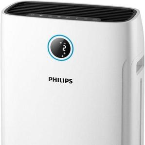 Philips Kombigerät Luftbefeuchter und -reiniger AC2729/10, für 60 m² Räume, bis 60 m² Raumgröße, weiß