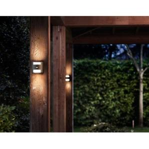 Philips LED-Außenwandleuchte mit Bewegungsmelder Grass Anthrazit