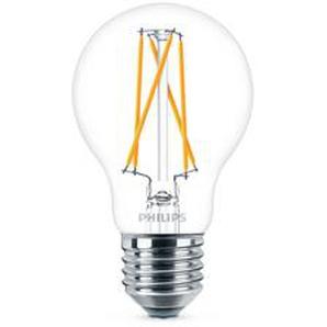 Philips LED-Lampe LED WarmGlow 60 W E27 806 lm klar, dimmbar