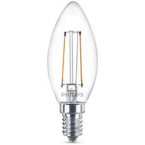 Philips Leuchtmittel LED Classic Kerze E14 klar, 2 W, 2700 K