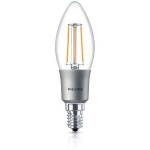 Philips Leuchtmittel LED Classic Kerze E14 klar, 5 W, 2700 K, dimmbar