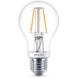Philips Leuchtmittel LED Classic Lampe E27 klar, 5 W, 2700 K, dimmbar