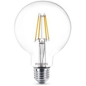 Philips Leuchtmittel LED Kugellampe E27 klar, 6 W, 2700 K