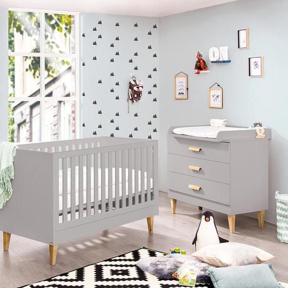 Pinolino Baby-Zimmer »Jasper« - braun - Holz -