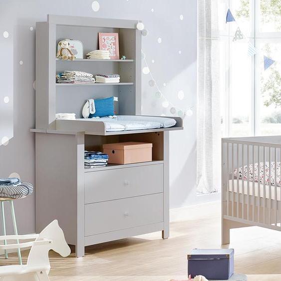 Pinolino Baby-Zimmer-Set »Liv« - Grau - Holz -