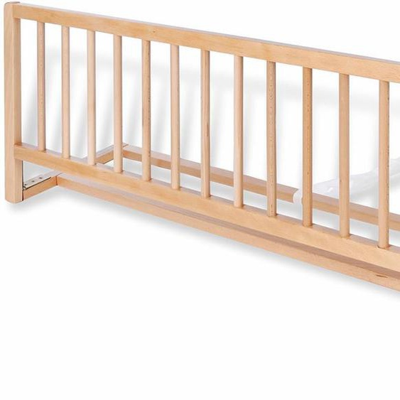 Pinolino Bettschutzgitter Comfort, klar lackiert Einheitsgröße beige Baby Bettgitter Babygitter Babymöbel Schutzgitter