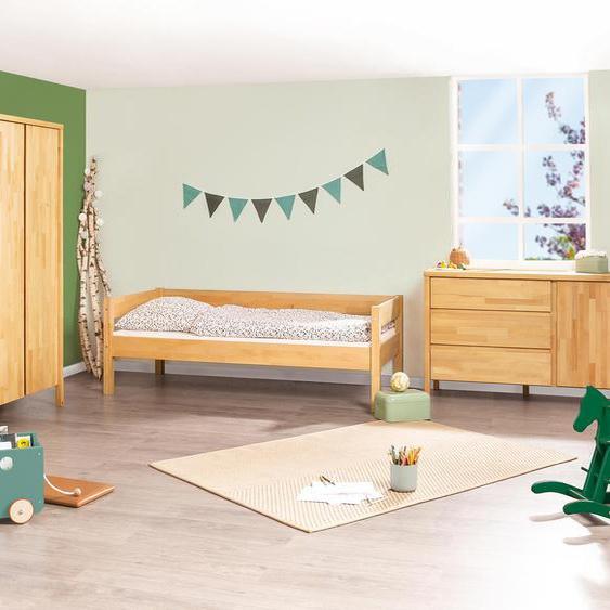 Pinolino Jugendbett »Enno« aus Massivholz - naturfarben - Buche -