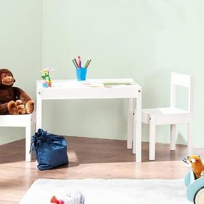 Pinolino Kindersitzgruppe »Sina« - Weiß - Massivholz -