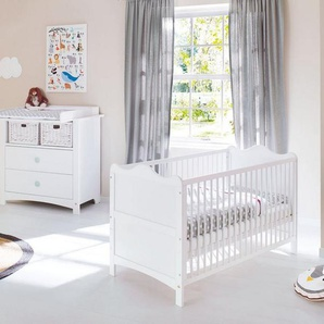 Pinolino Babyzimmer Set (2-tlg) Sparset »Florentina« breit