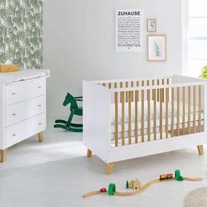 Pinolino Babyzimmer Set (2-tlg) Sparset »Pan« breit
