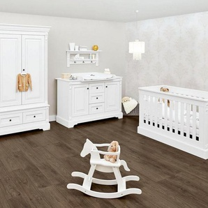 Pinolino Babyzimmer Set, Kinderzimmer »Emilia« extrabreit groß (3-tlg.)