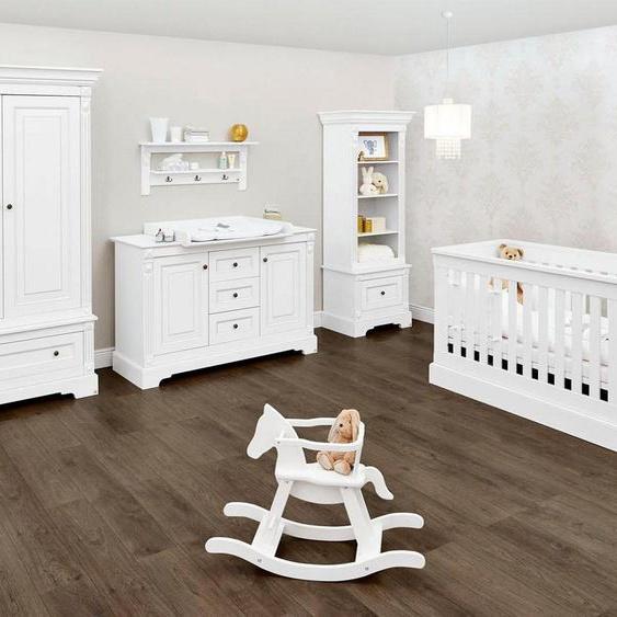 Pinolino® Babyzimmer-Komplettset »Emilia«, (Set, 3-St), extrabreit; mit Kinderbett, Schrank und Wickelkommode