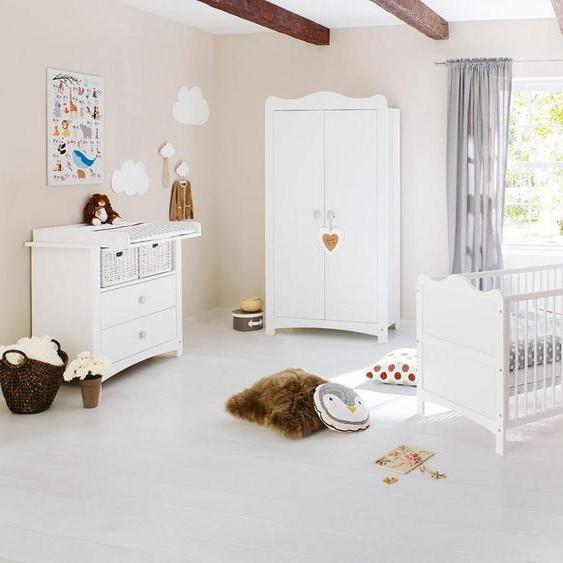 Pinolino® Babyzimmer-Komplettset »Florentina«, (Set, 3-tlg), breit; Made in Europe