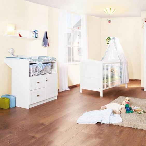 Pinolino® Babyzimmer-Komplettset »Laura«, (Set, 3-tlg), groß, Made in Germany
