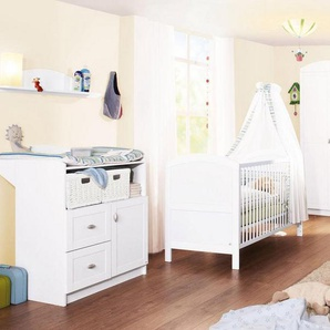 Pinolino Babyzimmer Set (3-tlg) Kinderzimmer, »Laura«