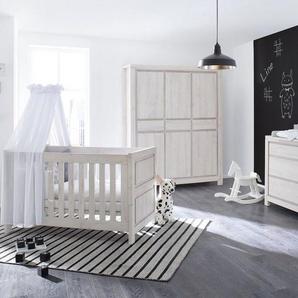 Pinolino Babyzimmer Set (3-tlg) Kinderzimmer »Line« extrabreit groß