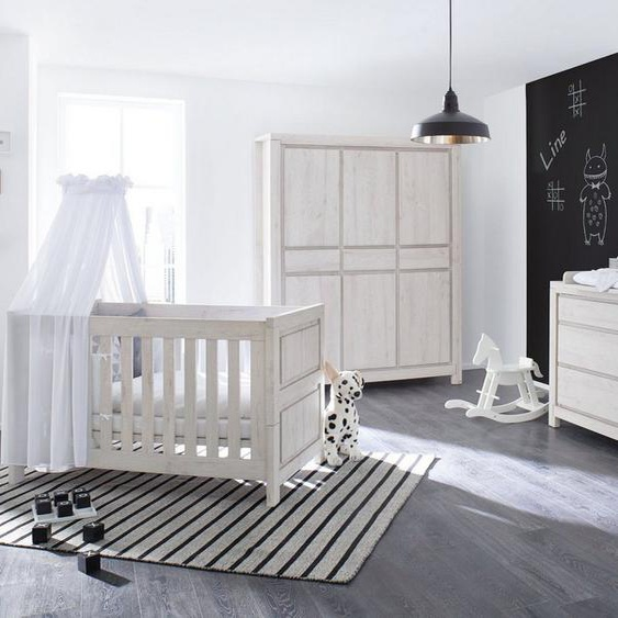 Pinolino® Babyzimmer-Komplettset »Line«, (Set, 3-tlg), extrabreit groß