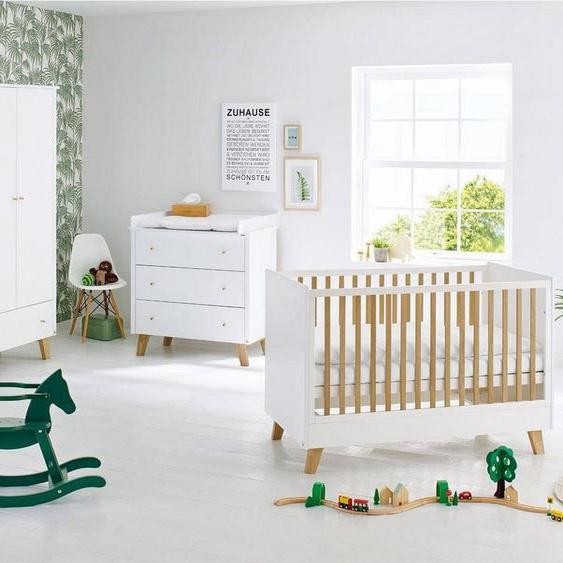 Pinolino® Babyzimmer-Komplettset »Pan«, (Set, 3-tlg), breit; Made in Europe