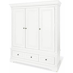 Pinolino® Kleiderschränke »Emilia, 3-türig, groß«, weiß
