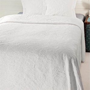 Piquédecke Renascena - Weiß - 100% Baumwolle - Tagesdecken & Quilts - Überwürfe & Sofaüberwürfe