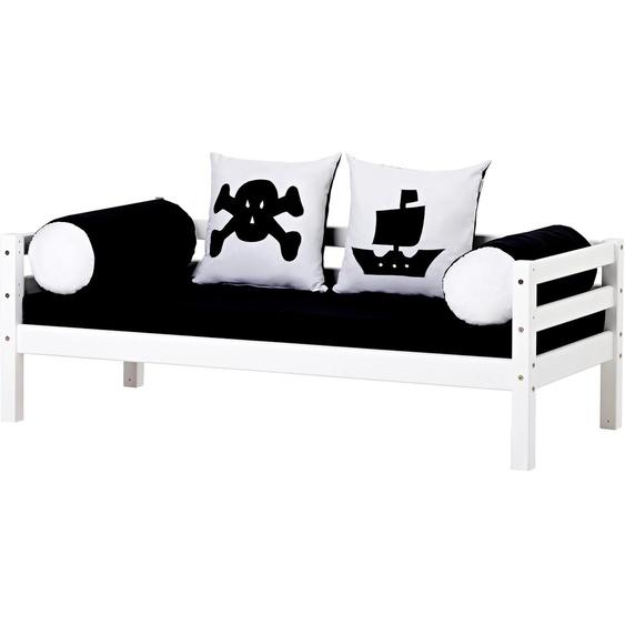 Piratenbett  »Pirat«, 70x160 cm, FSC®-zertifiziert, weiß, Material Kiefer, Hoppekids