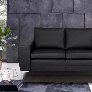 Places of Style 2-Sitzer »Twigo«, in Echtleder, mit hohem Sitzkomfort