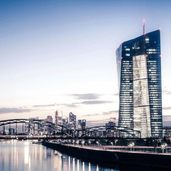 Places of Style Acrylglasbild Skyline B/H/T: 150 cm x 100 2,4 cm, bunt Kunstdrucke Bilder Bilderrahmen Wohnaccessoires