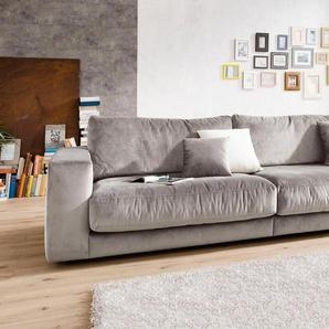 Places of Style Big-Sofa »Nizza«, in hochwertiger Verarbeitung und gemütlichem Design